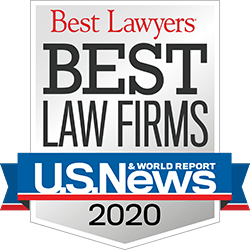 Best Law Firms - U.S. News 2020