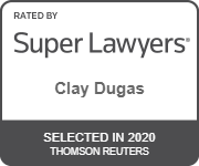 Clay Dugas Super Lawyers 2020