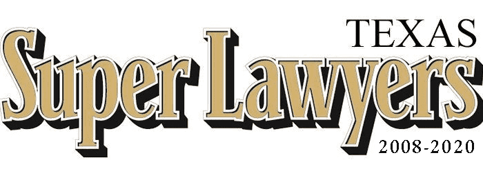 Texas Super Lawyer, 2008 – 2018